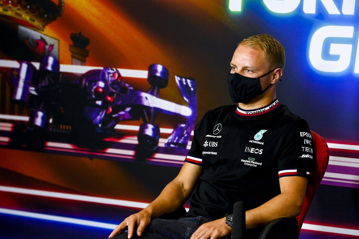 Valtteri Bottas, Mercedes in conferenza stampa
