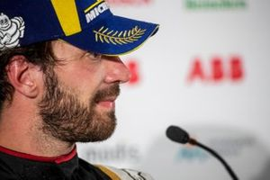 Jean-Eric Vergne, DS Techeetah, second position, in the Press Conference