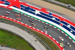 Austin Cindric, Team Penske, Ford Mustang Menards/Richmond and A.J. Allmendinger, Kaulig Racing, Chevrolet Camaro Pit Boss Grills