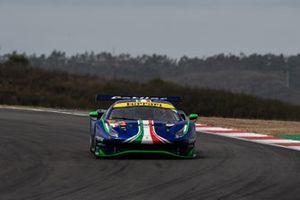 #47 Cetilar Racing, Ferrari 488 GTE Evo: Giorgio Sernagiotto, Roberto Lacorte, Antonio Fuoco