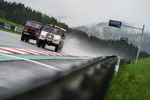 Max Verstappen, Sergio Perez, Red Bull Racing, Yuki Tsunoda en Pierre Gasly, AlphaTauri