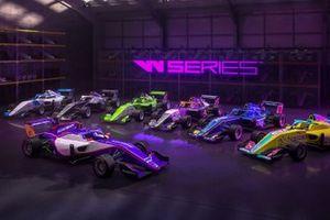 Decoraciones de los coches de las W Series 2021