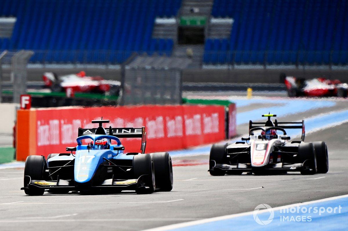 Victor Martins, MP Motorsport e Alexander Smolyar, ART Grand Prix