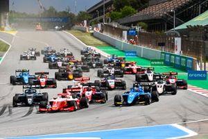 Dennis Hauger, Prema Racing, Victor Martins, MP Motorsport, Matteo Nannini, HWA Racelab, Jack Doohan, Trident
