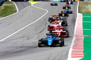 Victor Martins, MP Motorsport, Dennis Hauger, Prema Racing, Olli Caldwell, Prema Racing