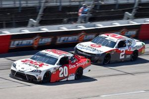 Harrison Burton, Joe Gibbs Racing, Toyota Supra DEX Imaging, Myatt Snider, Richard Childress Racing, Chevrolet Camaro TaxSlayer