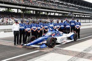 L'équipe de Tony Kanaan, Chip Ganassi Racing Honda
