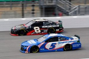 Kyle Larson, Hendrick Motorsports, Chevrolet Camaro HendrickCars.com and Tyler Reddick, Richard Childress Racing, Chevrolet Camaro Childress Vineyards