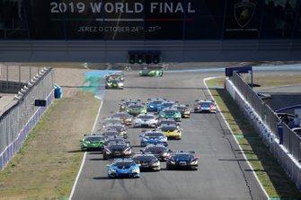 Lamborghini-Weltfinale 2019 in Jerez
