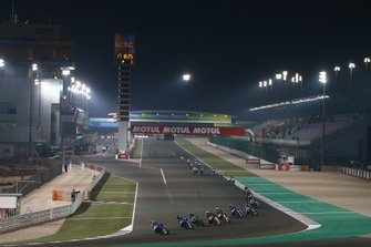 Jules Cluzel, GMT94 Yamaha leads on lap1