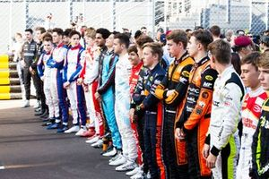 Pilotos de la FIA F3 World Cup 2019