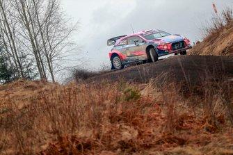 Ott Tänak, Martin Järveoja, Hyundai Motorsport Hyundai i20 Coupe WRC
