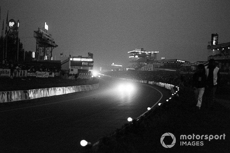 1969 год. Вид на стартовую прямую трассы