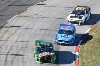 Chase Elliott, Hendrick Motorsports, Chevrolet Camaro Mountain Dew, Ricky Stenhouse Jr., Roush Fenway Racing, Ford Mustang Fifth Third Bank, Daniel Hemric, Richard Childress Racing, Chevrolet Camaro