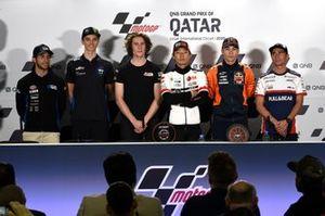 Enea Bastianini, Italtrans Racing Team, Luca Marini, Sky Racing Team VR46, Joe Roberts, American Racing, Tetsuki Suzuki, Raul Fernandez, Albert Arenas