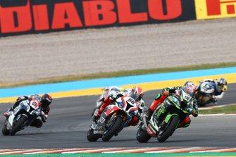 Leon Haslam, Kawasaki Racing Team, Tom Sykes, BMW Motorrad WorldSBK Team