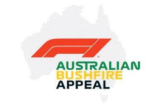 F1 - Bushfire Appeal logo