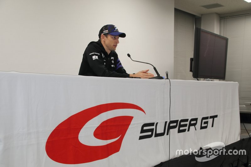 ジェンソン・バトン / Jenson Button(#1 RAYBRIG NSX-GT)