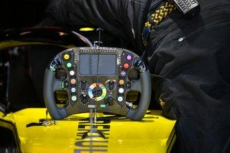 Het stuur van de Renault R.S.19