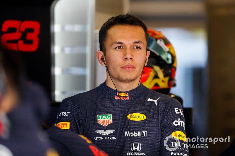 25. Alex Albon, Formula 1