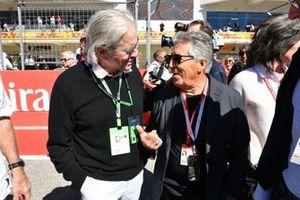 Michael Douglas en Mario Andretti