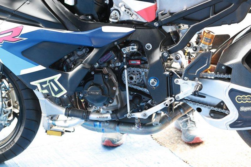 Motor van Eugene Laverty, BMW Motorrad WorldSBK Team