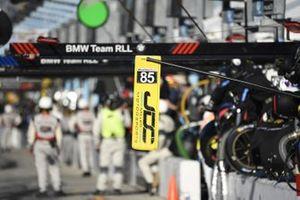 #85 JDC-Miller Motorsports Cadillac DPi, DPi: Matheus Leist, Chris Miller, Tristan Vautier, Juan Piedrahita pit stop