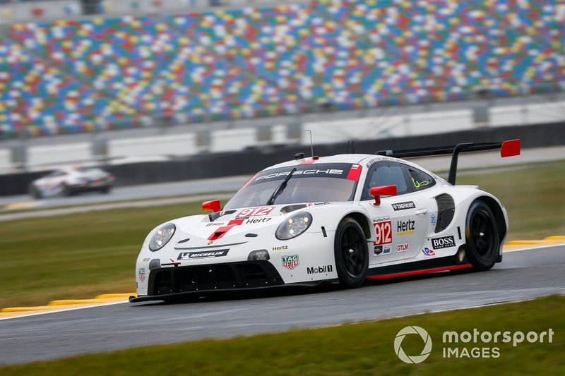 #912 Porsche GT Team Porsche 911 RSR - 19, GTLM: Laurens Vanthoor, Earl Bamber, Mathieu Jaminet
