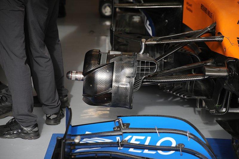 Freio McLaren MCL35