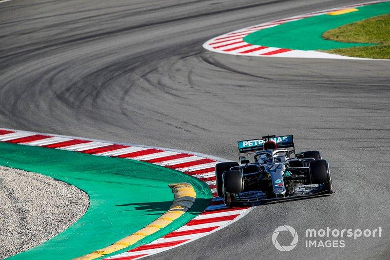 1º Valtteri Bottas, Mercedes F1 W11: 1:16.196 (con neumáticos C5)