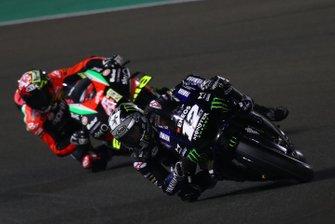 Maverick Vinales, Yamaha Factory Racing, Aleix Espargaro, Aprilia Racing Team Gresini