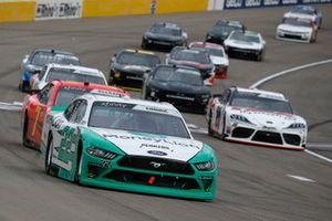 Austin Cindric, Team Penske, Ford Mustang MoneyLion and Justin Allgaier, JR Motorsports, Chevrolet Camaro BRANDT
