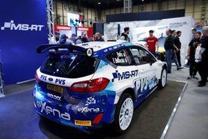 A Ford Fiesta RS en el Autosport show