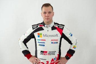 Jonne Halttunen, Toyota Racing