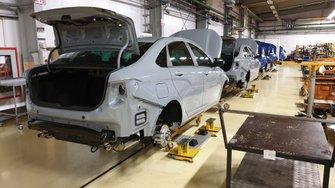 Производство Lada Sport