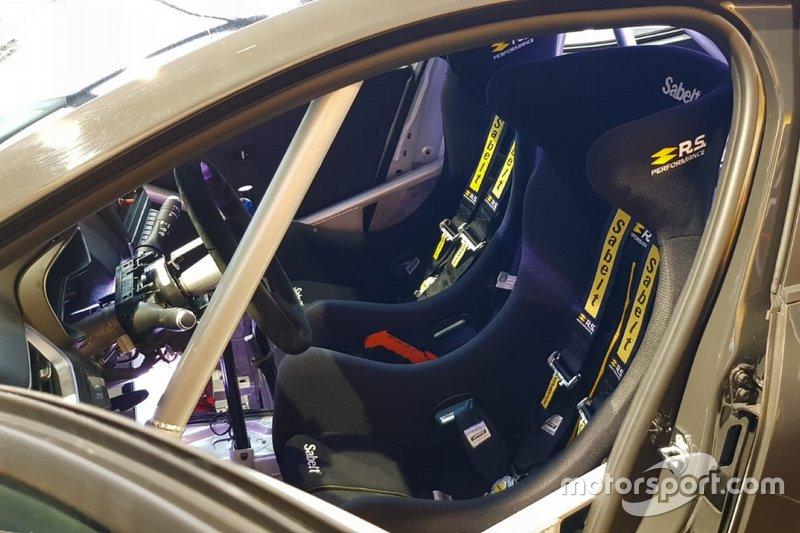 Renault Clio Rallye, dettaglio