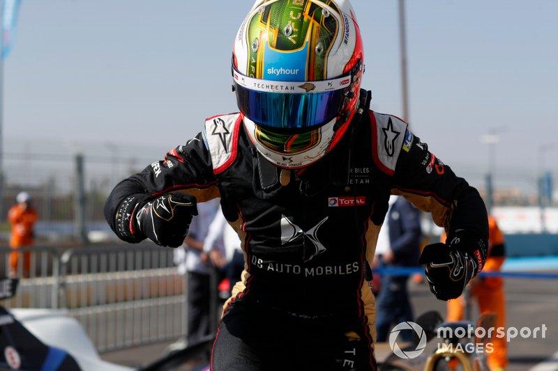 Ganador de la carrera Antonio Felix da Costa, DS Techeetah, DS E-Tense FE20