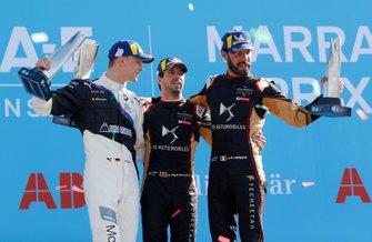 Podio: ganador de la carrera Antonio Felix da Costa, DS Techeetah segundo lugar Maximilian Günther, BMW I Andretti Motorsports, tercer lugar Jean-Eric Vergne, DS Techeetah
