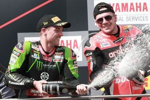 1. Alex Lowes, Kawasaki Racing Team, 3. Scott Redding, Aruba.it Racing Ducati