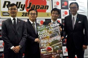 「FIA世界ラリー選手権日本ラウンド RallyJapan 2020年の開催概念発表」記者会見