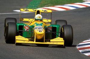 Riccardo Patrese, Benetton B193B Ford, al GP di Germania del 1993