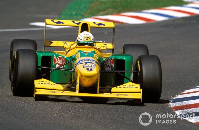 Riccardo Patrese (Benetton) - Allemagne 1993
