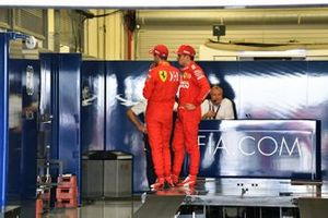 Sebastian Vettel, Ferrari, and Charles Leclerc, Ferrari, weigh in after Qualifying