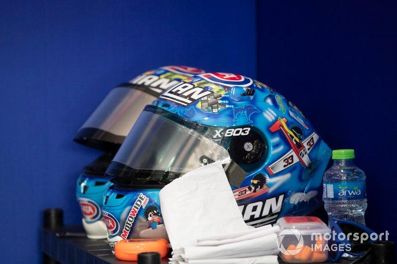 Helm: Marco Melandri, GRT Yamaha WorldSBK
