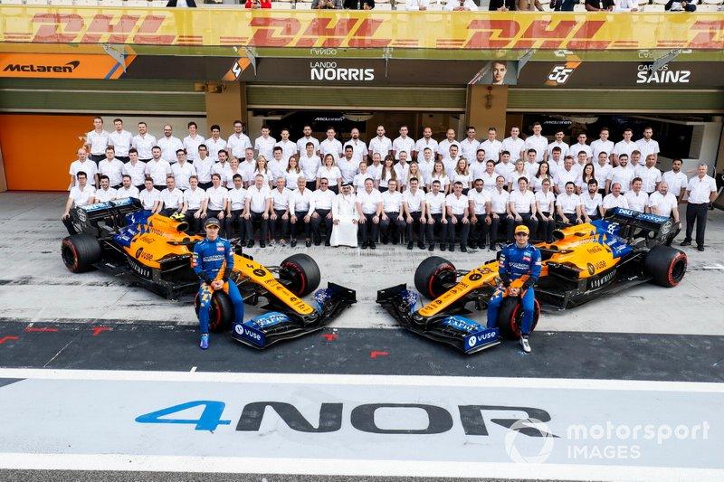 Carlos Sainz Jr, McLaren, Lando Norris, McLaren y el equipo McLaren 2019
