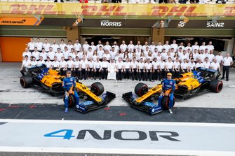 Carlos Sainz Jr., McLaren, Lando Norris, McLaren, and the 2019 McLaren team