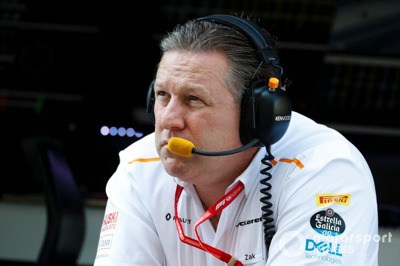 Zak Brown, director ejecutivo de McLaren