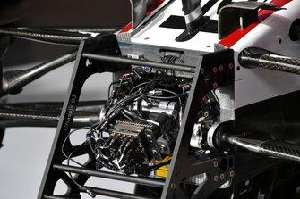 Detail on the front of Antonio Giovinazzi's Alfa Romeo Racing C39