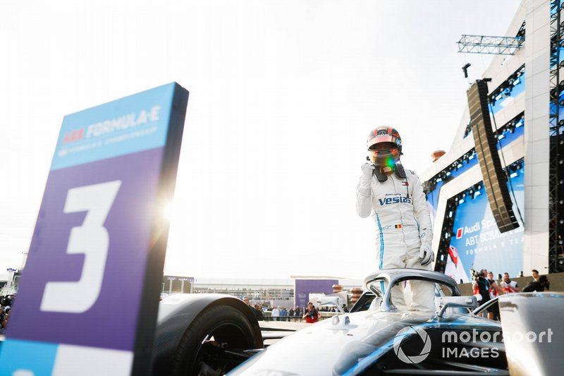 Stoffel Vandoorne, Mercedes Benz EQ, 3° classificato