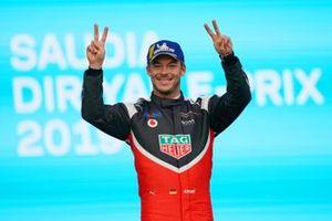 Podio: segundo lugar Andre Lotterer, Porsche
